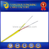 Tipo aislado fibra de vidrio cable de la trenza J del acero inoxidable de termocople