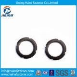 L'anneau fendu de rondelles d'oxyde noir