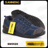 O calçado de trabalho desportivo com nova PU/PU linguado (SN5520)
