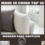 Europäische Art elegantes L Form-Leder-Sofa