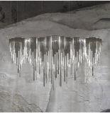 /Drop/Chandelierのつくことをハングさせるふさのアルミニウムチェーン吊り下げ式の軽く贅沢なふさ