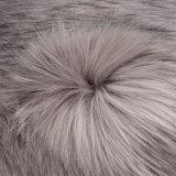 Pelliccia di lunghezza falsa acrilica del tessuto a riccio del franco della pelliccia artificiale del Faux della pelliccia