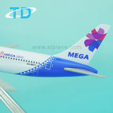 Mega Airlines B767-300 металлические модели Boeing гражданского самолета
