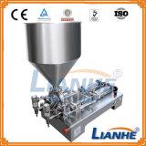 Pneumatische halb automatische füllende Einfüllstutzen-Maschine für Sahne/Flüssigkeit/Lotion