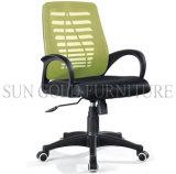 Neuer preiswerter grüner Ineinander greifen-Schwenker-Stab-Computer-Stuhl (SZ-OCA067A)