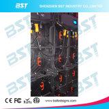 P6.25 алюминиевое МНОГОТОЧИЕ экрана дисплея SMD RGB стены напольного этапа арендное СИД видео-