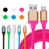 Câble usb de remplissage rapide de caractéristiques de chargeur de téléphone mobile de bande