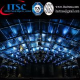屋内コンサートのトラス照明解決