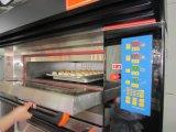 Печь коммерчески пиццы цифрового управления электрическая для фабрики хлебопекарни