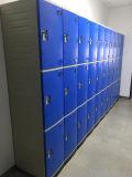 Хранение локера локера Js38-3 инженерства ABS пластичное