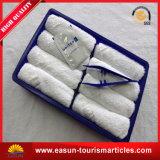 Toalla caliente para el algodón disponible de la toalla de la línea aérea