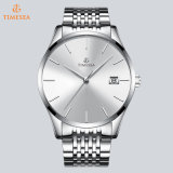 Calendario de trabajo ver hombres impermeable reloj mecánico automático Ver Men's Watch 72819