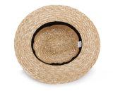밀 밀짚 중절모 모자