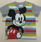 2017 Katoenen van de Baby van jongens T-shirt