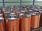 Collegare di alluminio placcato di rame nudo del CCA del collegare