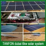 Портативный солнечный набор панели системы PV для домашней напольной пользы