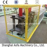 Machine à formage de rouleaux de porte à volets roulants en acier métallique