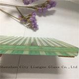 El vidrio laminado del vidrio/arte del vidrio de flotador/arte/templó el vidrio laminado para la decoración