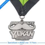 Medaglia personalizzata di esecuzione di maratona del ricordo di sport del banco 3D