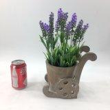 Lavanda artificiale di disegno speciale conservata in vaso