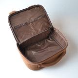 جذّابة سفر مستحضر تجميل حقيبة نوع خيش, خطّ علامة تجاريّة مستحضر تجميل حقيبة