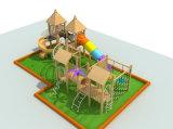 Parque infantil Madera Niños Jungle Gym Juegos para jugar al aire libre