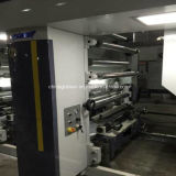 7 impresora de alta velocidad del rotograbado del color del motor 8 para la película 150m/Min