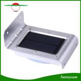 Luz de sensor de movimento exterior alimentada por energia solar de 16 LED, luz de noite sem fio impermeável, luz de segurança para entrada, caminhos, jardim, pátio, pátio