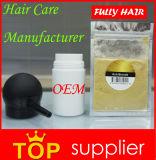 Ue calda vendendo completamente le fibre della costruzione dei capelli della cheratina in 18 colori