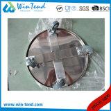 車輪が付いている製造所のステンレス鋼のStockpotそしてごみ箱の容易な輸送のカート