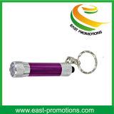 Hot Sell Promotion Gift Chaveiro alumínio iluminado
