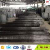 Черным сваренный проводом экспорт фабрики ячеистой сети большой