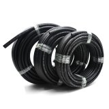Yute à haute pression SAE J30r7 Flexible 8mm Cotton Fuel Huy
