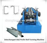 C y rodillo permutable de la correa de Z que forma la máquina
