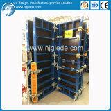 Système de coffrage de panneau de bâti en acier pour la construction