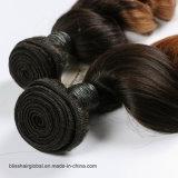 Brasilianische Remy Haar Ombre Sprung-Wellen-Jungfrau-Haar-Menschenhaar-Großhandelswebart
