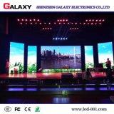 Il livello schermo di visualizzazione dell'interno della parete dell'affitto LED di velocità di rinfrescamento il video per il congresso della fase di esposizione