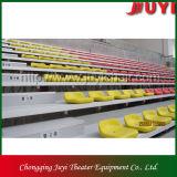 La fabricación de interiores Ce Frecuentes Bleacher telescópica retráctil /Bleacher asientos Jy-706 Tribune gradas utilizadas para la venta sillas retráctil