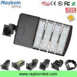 Dlc de UL enumerado 200W de las luces de caja de zapatos de LED para iluminación de pista de tenis