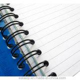 Fio em espiral metálico de ligação de livro duplo para notebook