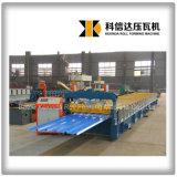 máquina de formação Kxd-1000 da chapa de tejadilho