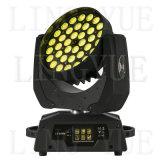 36X18W Etapa haz zoom Cabezal movible LED Wash