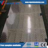 Lamiera AA5052 cinque/lamierino Checkered di alluminio impressi barre per la piattaforma