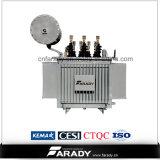 Transformador de potência de tensão elétrica de baixa tensão 13,8kv S11