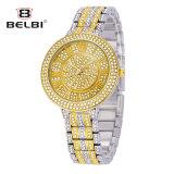 Belbi 시계 형식 고귀한 합금 스테인리스 보석 버클 별 시리즈 석영 시계