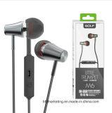Auriculares estéreos profesionales de Earbuds del auricular de la trompeta para Smartphons