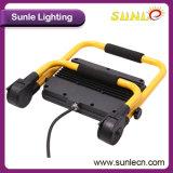 ハンドルの黄色か黒いハウジング10W LEDの洪水ライト(SLFAP31)
