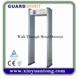 Best Selling 6 Zones Walk Throguh Detector de metais Preço