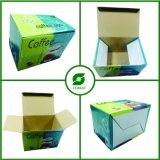 De afgedrukte Doos van het Karton van de Plooi Hoogste Verpakkende voor de Pot van de Koffie