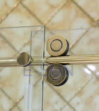 Diseño popular sala de ducha deslizantes de acero inoxidable (SR-031)